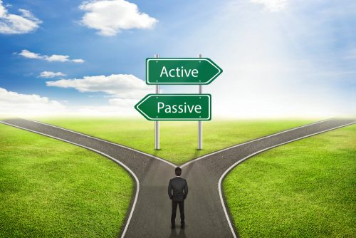 active and passive investment